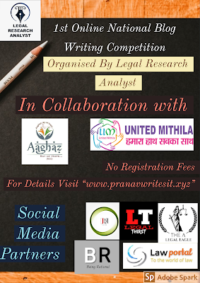 The Second, National Blog Writing Competition