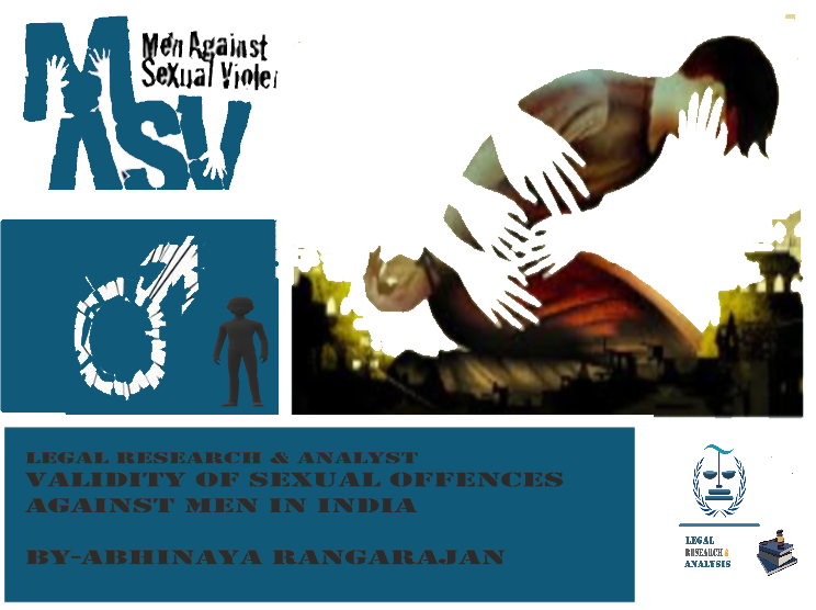 Validity of sexual offences against men in India