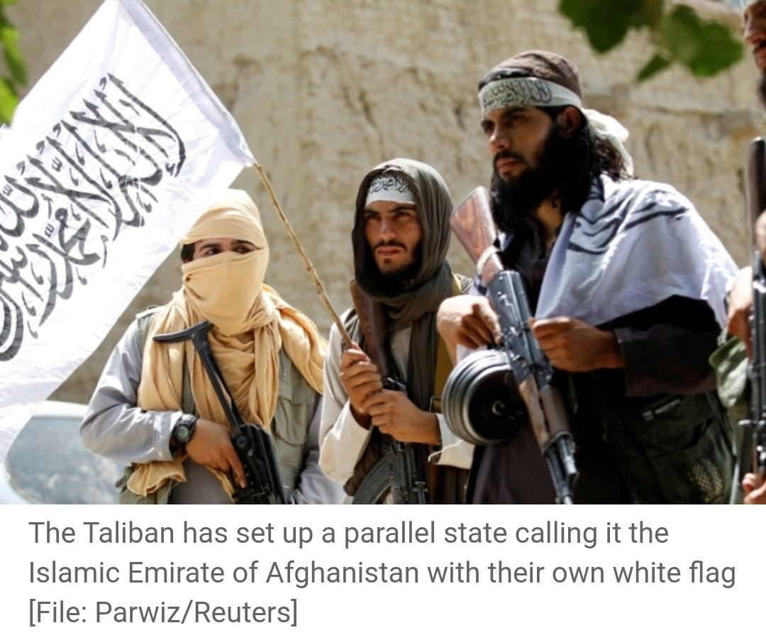 The armed group has emerged as a strong player as US-led foreign forces pull out of Afghanistan after 20 years.