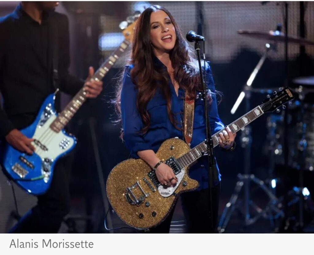 Alanis Morissette claims she was raped by multiple men when she was 15 in new HBO documentary