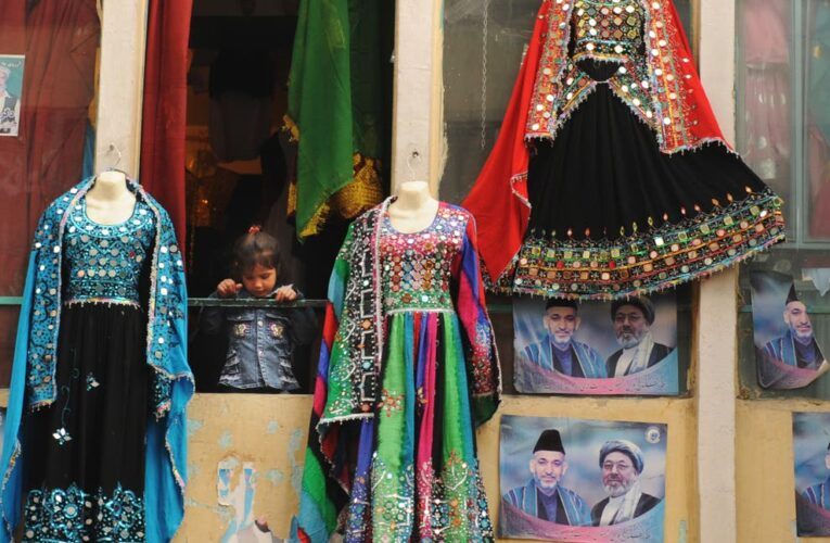 Afghan women share pictures of their traditional attire as Taliban announces new rules